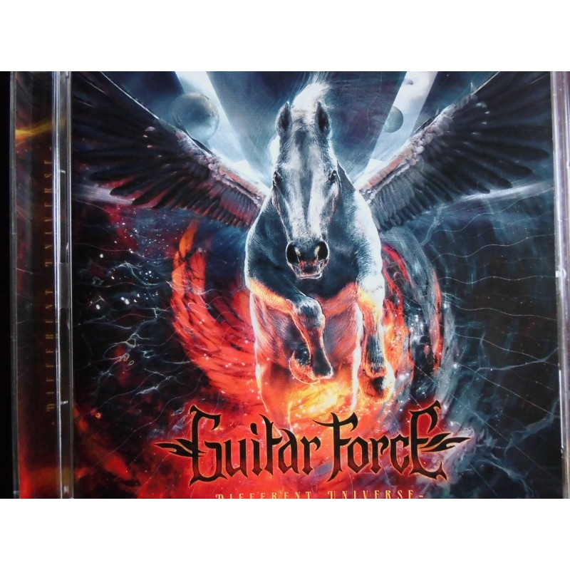 guitar force different universe cd