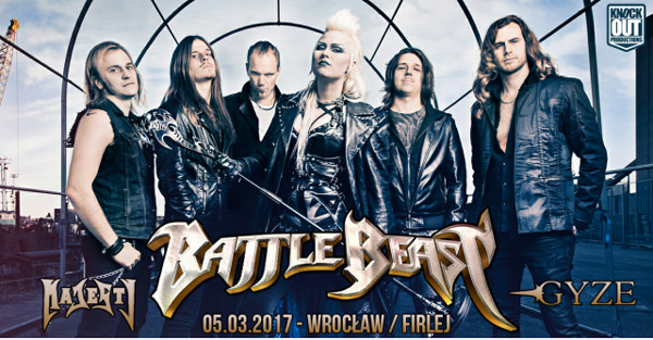 Battle Beast 5.06.17 Wrocław edit