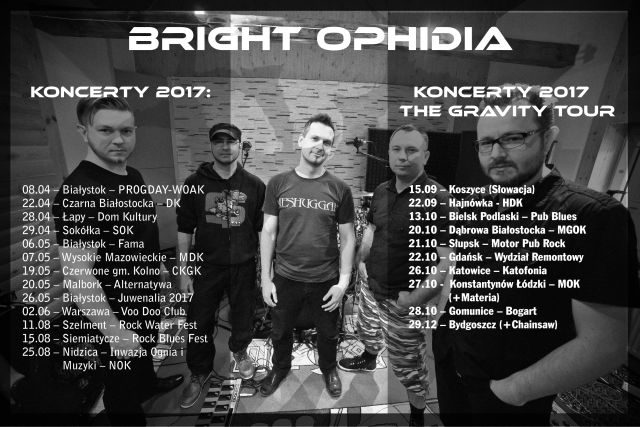 Bright ophidia Info koncerty