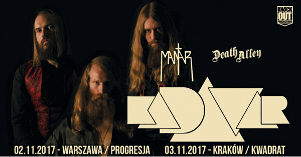 Kadavar Mantar Death Alley 2 3.11.17