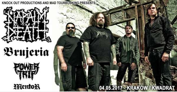 Napalm Death Brujeria Power Mentor 4.05.17 edit