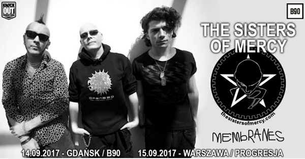 The Sisters Of Mercy The Membranes 14 15.09.17