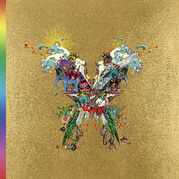 COLDPLAY Live In Buenos Aires Live In Sao Paulo A Head Full Of Dreams 3LP 2DVD 0190295570422