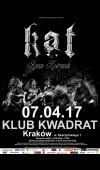 KAT / 7.04.17 / Kraków / Klub Kwadrat