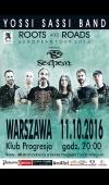 Yossi Sassi Band / 11.10.2016 / Warszawa / Progresja Music Zone