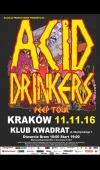 Acid Drinkers / 11.11.16 / Kraków / Klub Kwadrat
