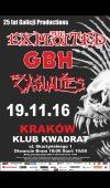 The Exploited / 19.11.16 / Kraków / Klub Kwadrat