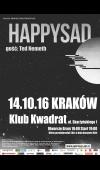 Happysad / 14.10.16 / Kraków / Klub Kwadrat