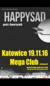 Happysad / 19.11.16 / Katowice / Mega Club
