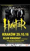 Hunter / 29.10.16 / Kraków / Klub Kwadrat