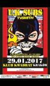 U.K. Subs / 29.01.17 / Kraków / Klub Kwadrat